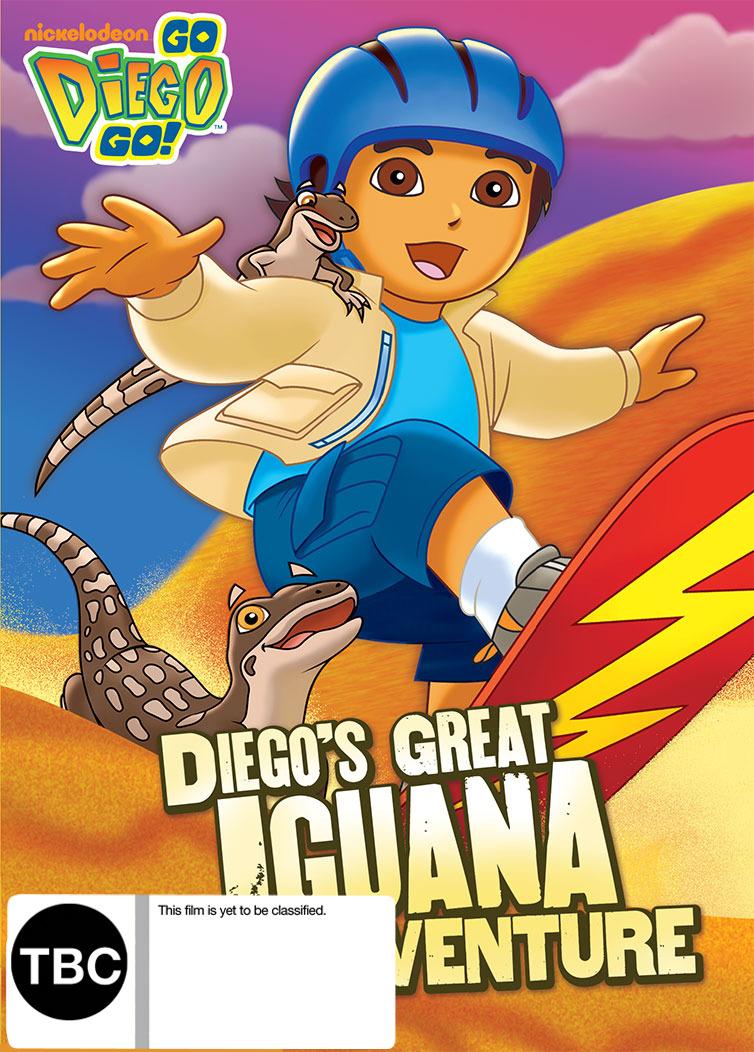 Go Diego Go! Diego's Great Iguana Adventure on DVD image