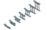 Inclined Piers - 00 Gauge