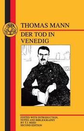 Tod in Venedig by Thomas Mann