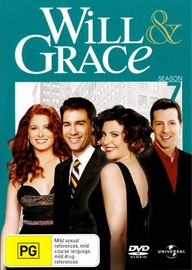 Will & Grace - Season 7 (4 Disc Set) on DVD image