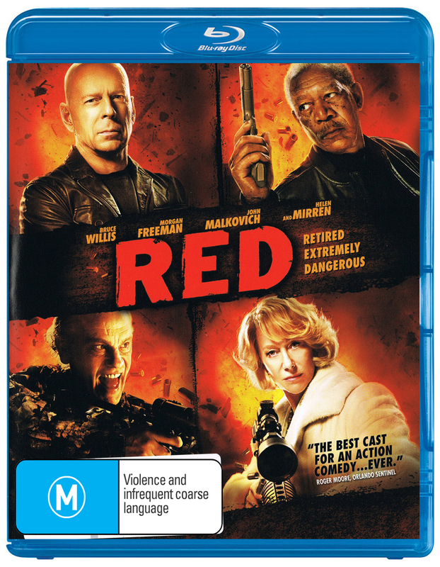 RED on Blu-ray
