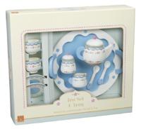 Orange Tree Toys: Farm Kitchen - Wooden Tea Set & Tray