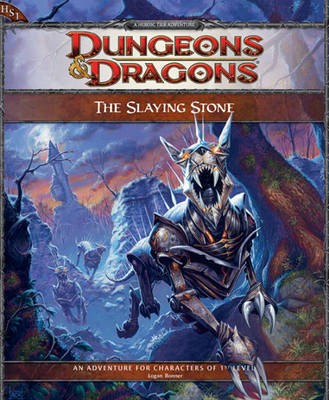 The Slaying Stone: Adventure Hs1 by Logan Bonner