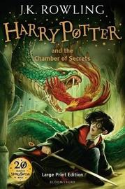 Harry Potter and the Chamber of Secrets #2 (Large Print Ed.) by J.K. Rowling