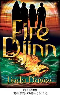 Fire Djinn by Linda Davies image