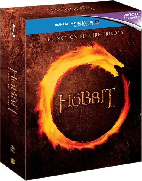 The Hobbit Trilogy on Blu-ray image