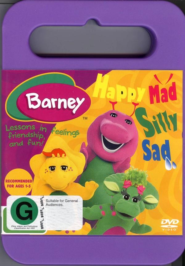 Barney - Happy Mad Silly Sad on DVD image