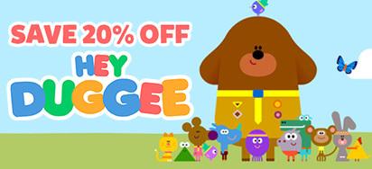 20% off Hey Duggee Toys!