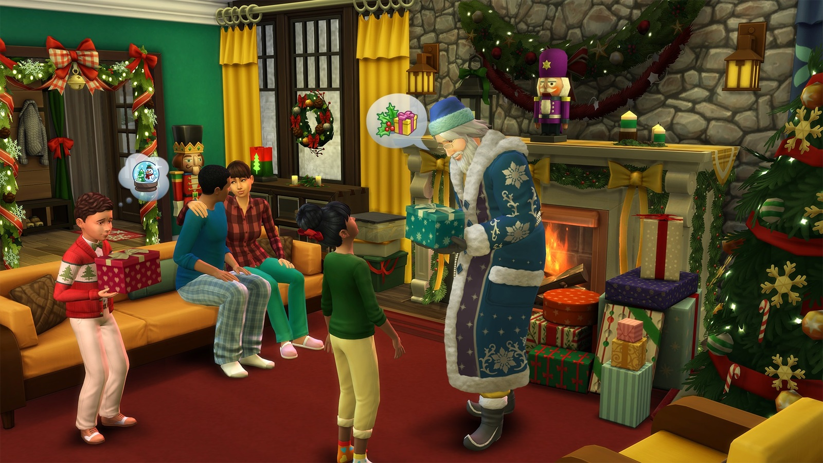 The Sims 4: Seasons (code in box) screenshot