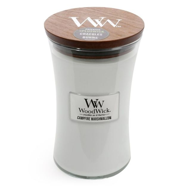 Woodwick Candle - Campfire Marshmallow (Large)
