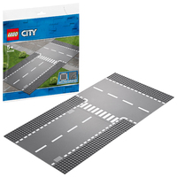LEGO City - Straight & T-Junction (60236)