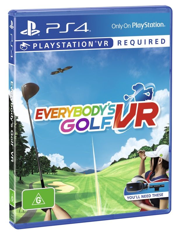 Everybody's Golf VR for PS4