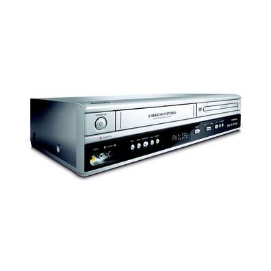 Philips DVP3050V DVD + VCR Player Combo image
