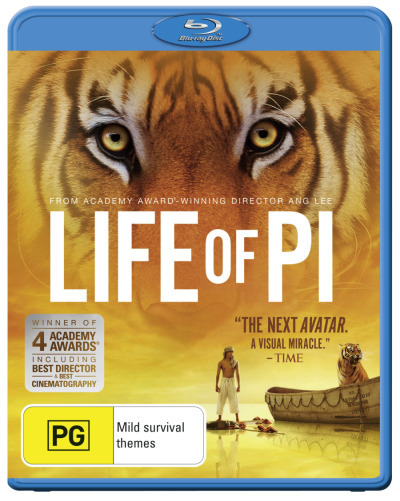 Life of Pi on Blu-ray