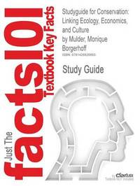 Studyguide for Conservation by Cram101 Textbook Reviews image