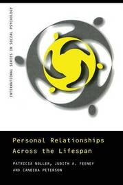 Personal Relationships Across the Lifespan by Patricia Noller image