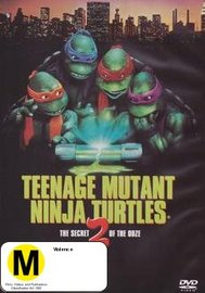 Teenage Mutant Ninja Turtles II: The Secret Of The Ooze on DVD