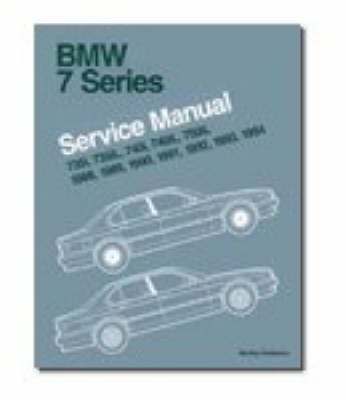 BMW 7 Series Service Manual 1988-94 (E32)