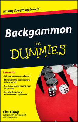 Backgammon For Dummies by Chris Bray image