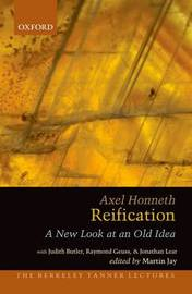 Reification by Axel Honneth