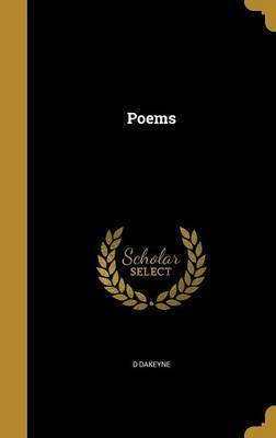 Poems by D Dakeyne
