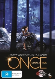 Once Upon A Time Season 7 on DVD