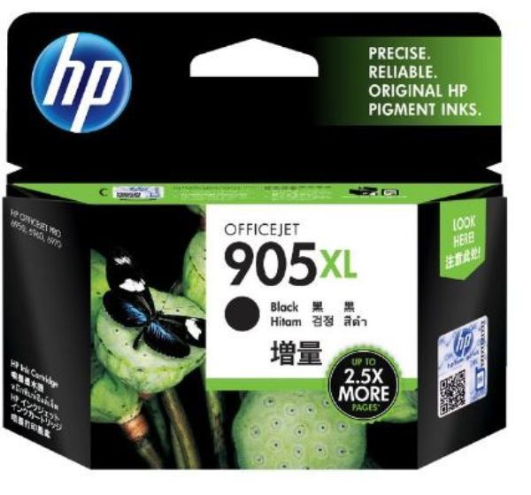 HP 905XL Black High Yield Ink Cartridge
