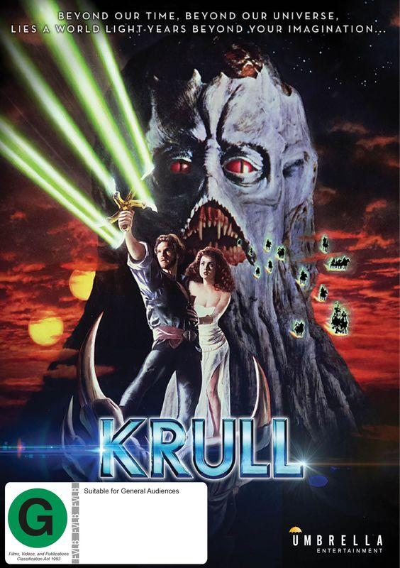 Krull on DVD