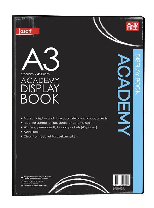 Jasart: Academy Display Book (A3)