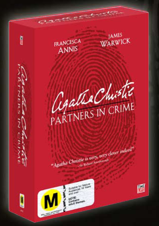 Agatha Christie - Partners in Crime (6 Disc Set) on DVD image
