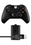 Xbox One Wireless Controller with Play and Charge Kit for Xbox One