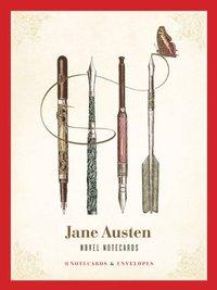 Jane Austen Novel Notecards (16 Cards/Envelopes) by Chronicle Books
