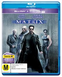 The Matrix on Blu-ray, UV