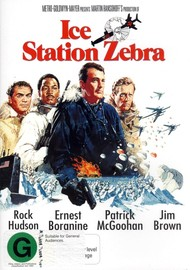 Ice Station Zebra on DVD image