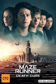Maze Runner: The Death Cure on DVD