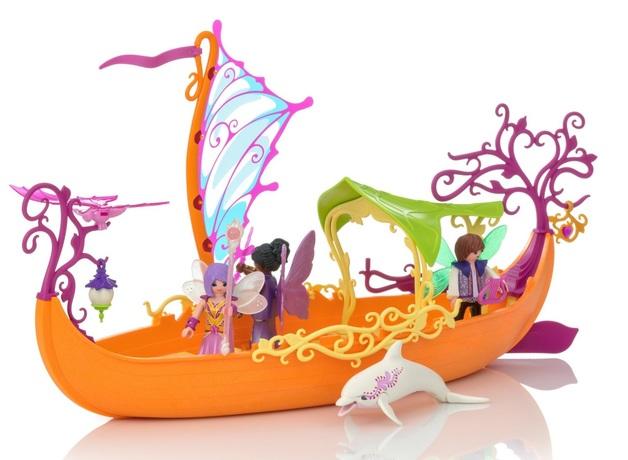 Playmobil: Fairies - Enchanted Fairy Ship (9133)