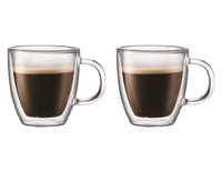 Bodum: Bistro Double Wall Thermo-Glasses Mugs (300ml) - Box of 2