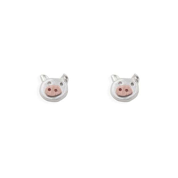 Short Story: Earring Little Piggy Rose Gold