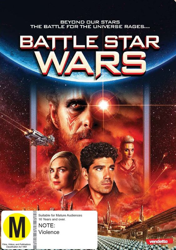 Battle Star Wars on DVD