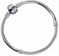 Harry Potter: Slider Charm Bracelet - Large (silver plated)