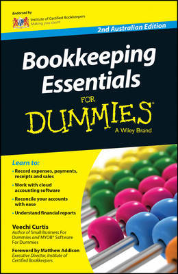 Bookkeeping Essentials For Dummies - Australia by Veechi Curtis image