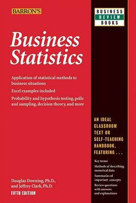 Business Statistics by Douglas Downing image