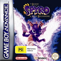 The Legend of Spyro: A New Beginning for Game Boy Advance image