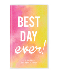 Graphique De France: Best Day Ever 2019 2 Year Planner Week to View