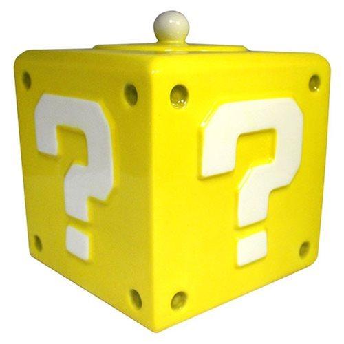 Super Mario Bros: Question Block - Cookie Jar image