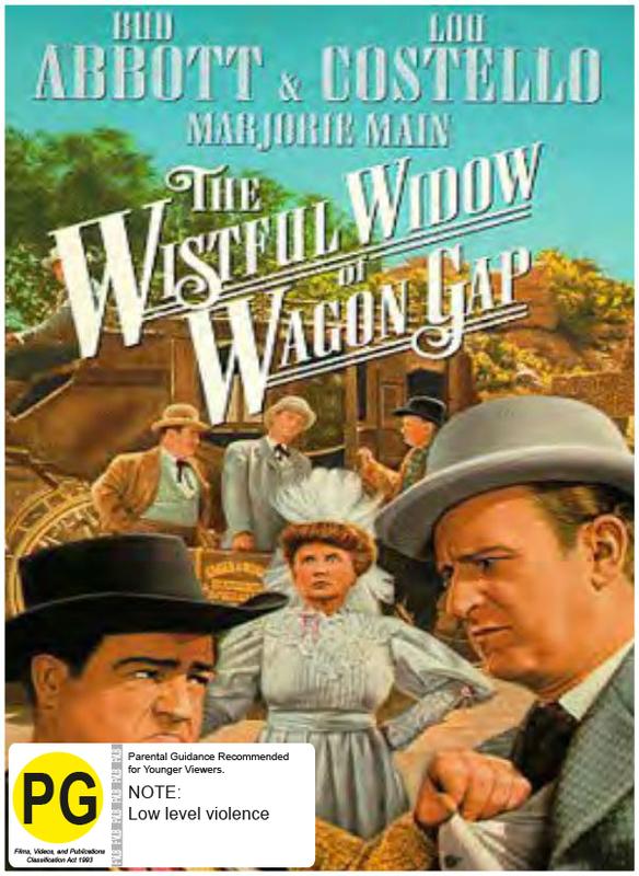 The Wistful Widow of Wagon Gap on DVD