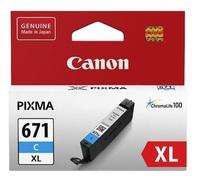 Canon CLI-671XLC Cyan High Yield Ink Cartridge