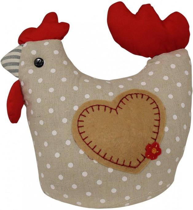 LaVida: Doorstop - Speckled Hen