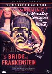 Bride Of Frankenstein on DVD