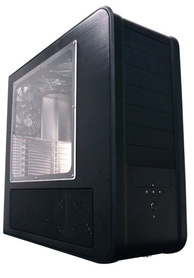 "SilverStone ""Temjin Series"" TJ07 Black ATX Tower Case with Window"